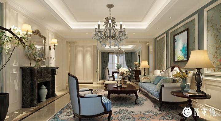 台州欧式风格装修设计案例 欧式风格家庭装修效果图