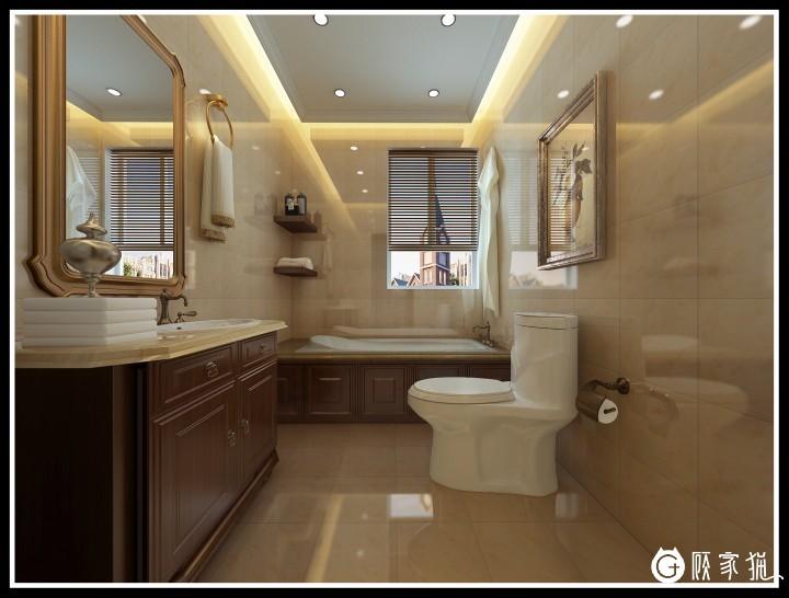 杭州欧式风格家庭装修设计案例  别样欧式风格