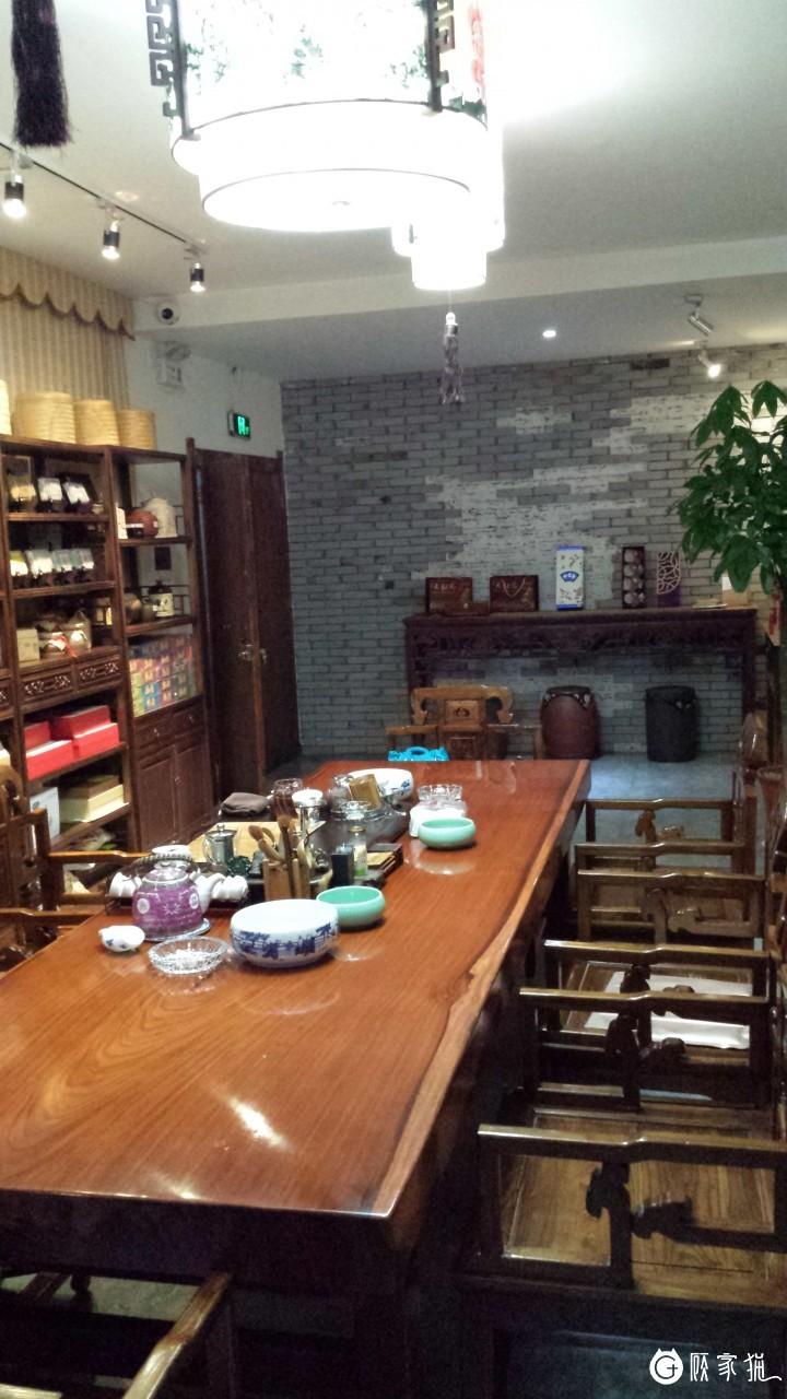 台州金满堂现代中式风格茶馆装修设计