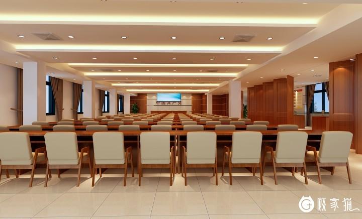 1350㎡某政府机关会议室装修设计效果图