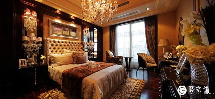 台州永安花园112平米欧式风格三居室装修设计