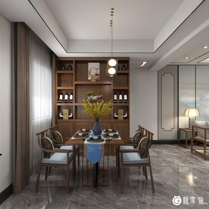 86m²新中式 —— 澜岸铂宫