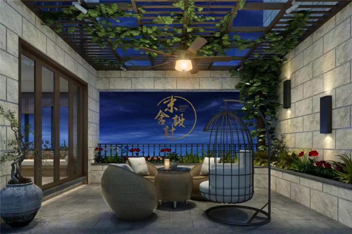 海棠湾180㎡现代风格三室两厅