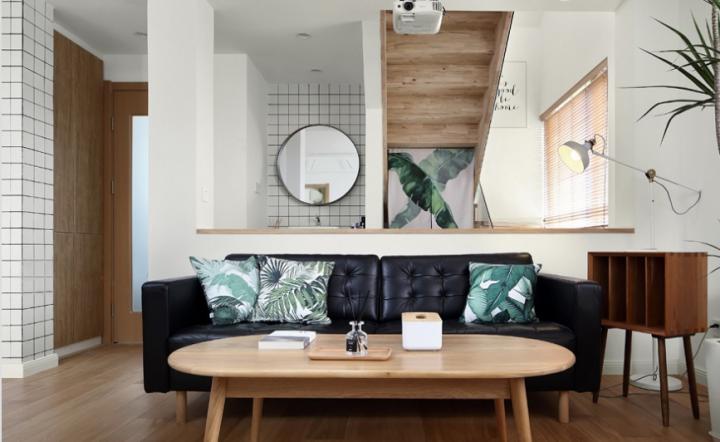 78平米日式loft慵懒公寓