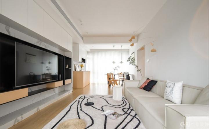 玺龙湾125平米三居室简约风格